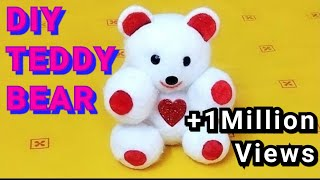 Art And Craft //DIY //Teddy Day Special:- Teddy Bear..