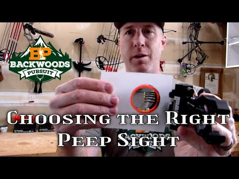How To Choose The Right Peep Sight   Best Tips For Archery