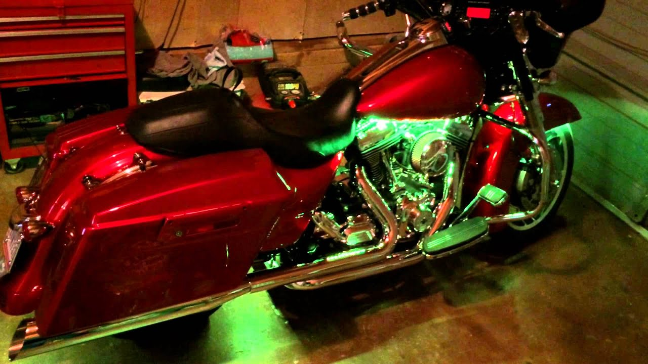 Harley Street Glide Fusion Led Lights Youtube