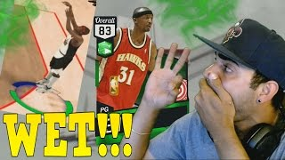 Emerald Jason Terry DEBUT! Best 3 Point Shooter in Nba 2k17 MYTEAM! Perfect Greens Everywhere