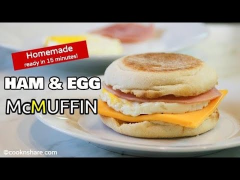 Perfect Egg McMuffin in 15 Minutes