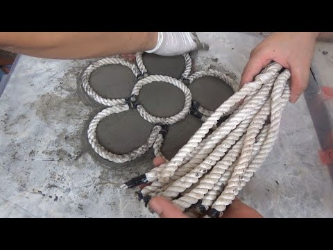 DIY Craft Cement ❤️❤️❤️ New Ideas For Garden