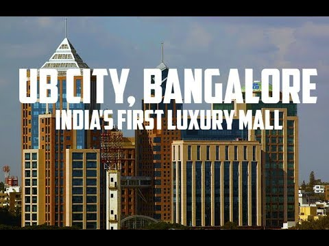 UB City, Bangalore (India's First Luxury Mall)