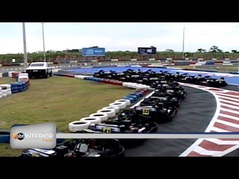 Kartódromo internacional é inaugurado em Birigui