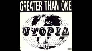 "Greater Than One - Utopia AA (b-side of the 12"")"