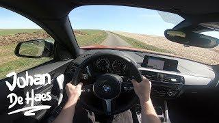 2018 BMW M140i Sportshatch 340hp POV test drive