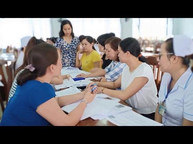 Đào tạo Tiêm truyền trị liệu cơ bản BVĐK Quảng Nam