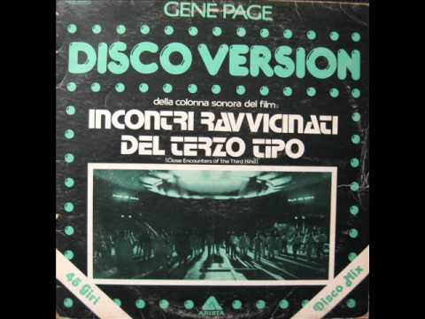 Gene Page  Close Encounters of the Third Kind 1977