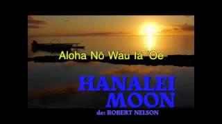HANALEI MOON   La Musique Karaoke de HEIMANA MANUIAGEEK et les Voix de JOSEPH