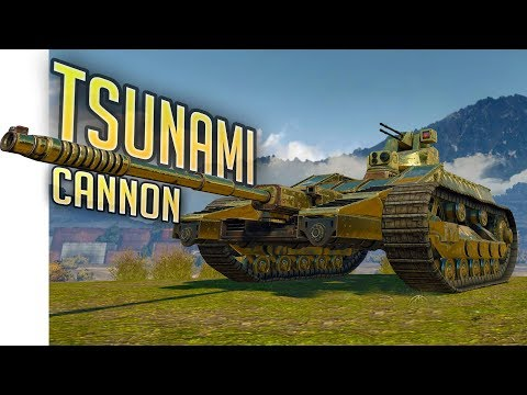 Crossout -The Monster Cannon - Tsunami Cannon Sniper Build - Crossout Gameplay Highlights
