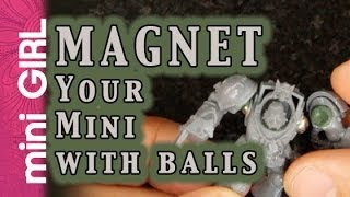 miniGIRL #38: How t๐ Magnetize with Balls of Steel - Tutorial