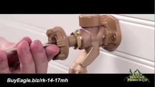 outdoor faucet replacement handle installation woodford model 14 and 17