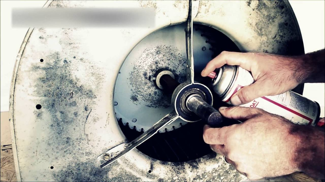 How to remove a blower bearing with the Bearing Buster tool