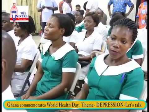 Ghana celebrates world health day with focus on depression