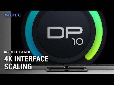 DP10 User Interface Scaling
