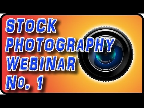 Learn How to Create Stock Photography - Free Photoshop Webinar