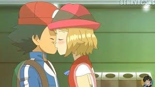 El Beso De Ash Y Serena Fue Con Lengua, Son Canon Y Punto (C)