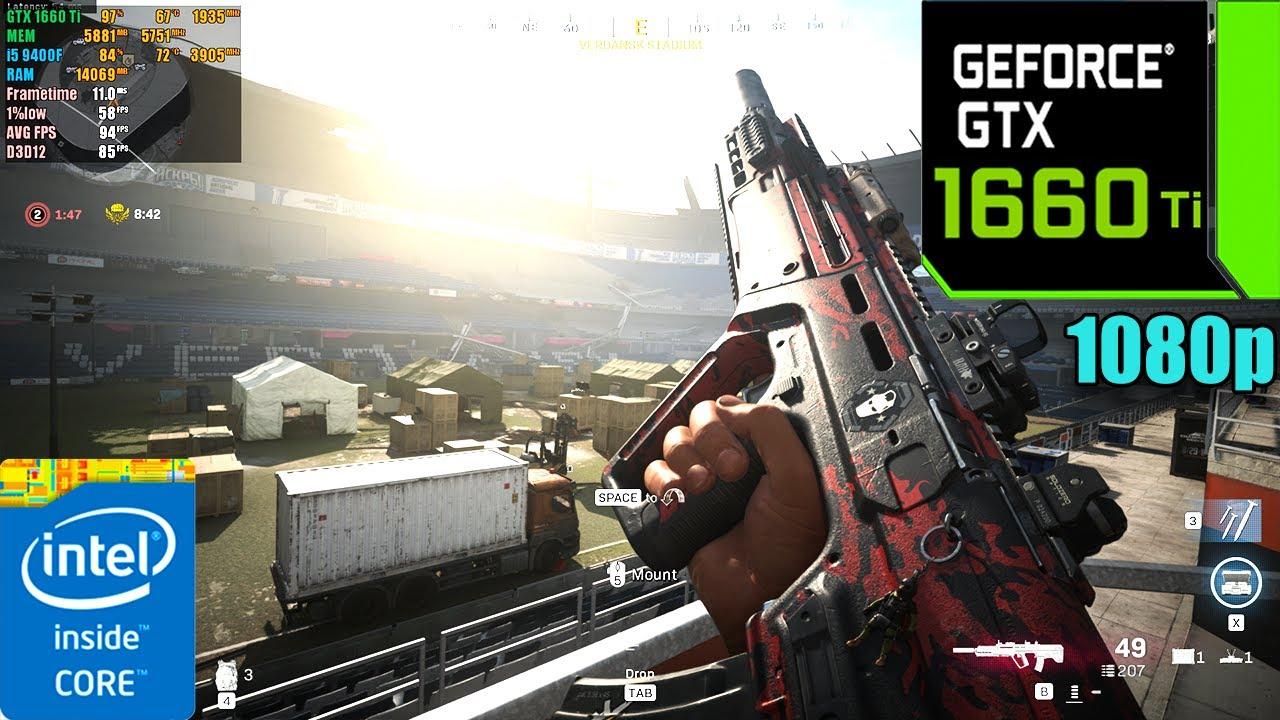 Call of Duty : Warzone Season 5 | GTX 1660 Ti 6GB