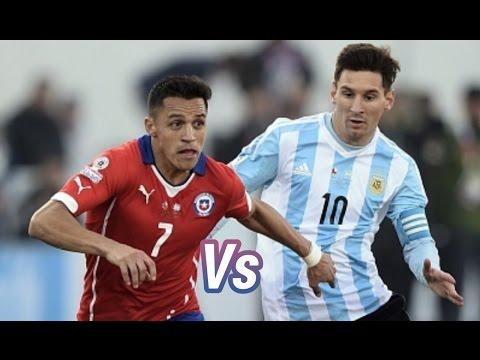 Messi Vs Alexis Sanchez - Copa América Centenario 2016