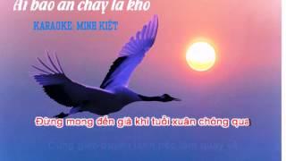 [Karaoke Phật Giáo] Ai Bảo Ăn Chay Là Khổ - Minh Kiệt