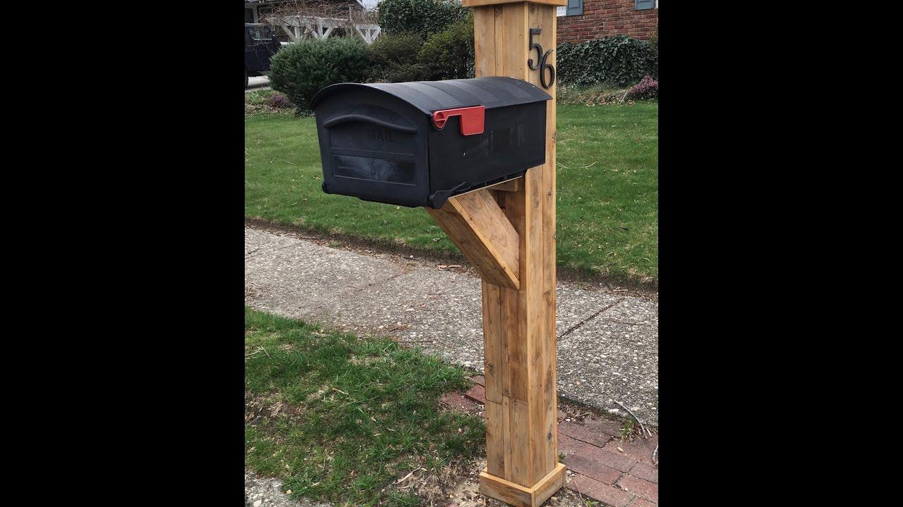 mailbox post ideas. DIY Mailbox Post Ideas I