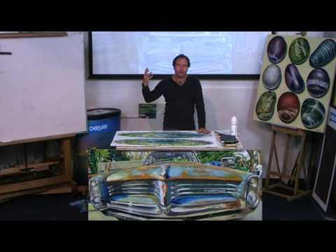 Derivan Artist Talks - Stephen  Evans - An Artists Perspective