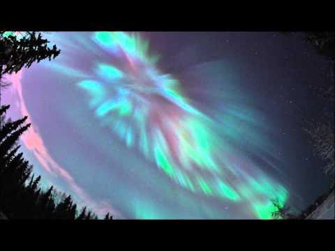 הזוהר הצפוני באלסקה