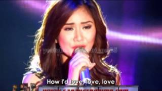 Sarah Geronimo - Dance With My Father (with lyrics) OFFCAM (17Jun12)