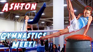 Ashton's First Gymnastics Meet on Youtube!