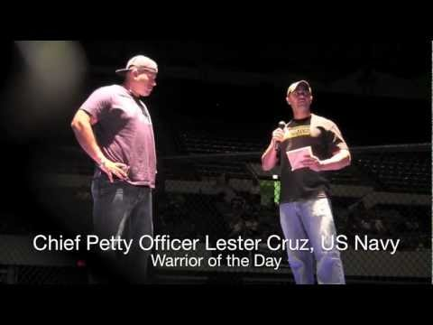 Spartyka Fight League IX : Warrior Of The Day - Chief Petty Officer Lester Cruz