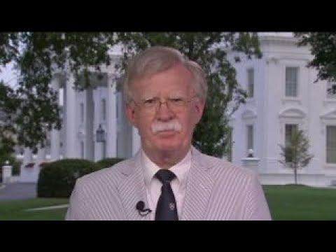 US sanctions are already being felt by Iran: John Bolton