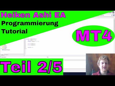 Heiken Ashi Expert Advisor im Meta Trader 4 Einsteiger Tutorial Teil 2
