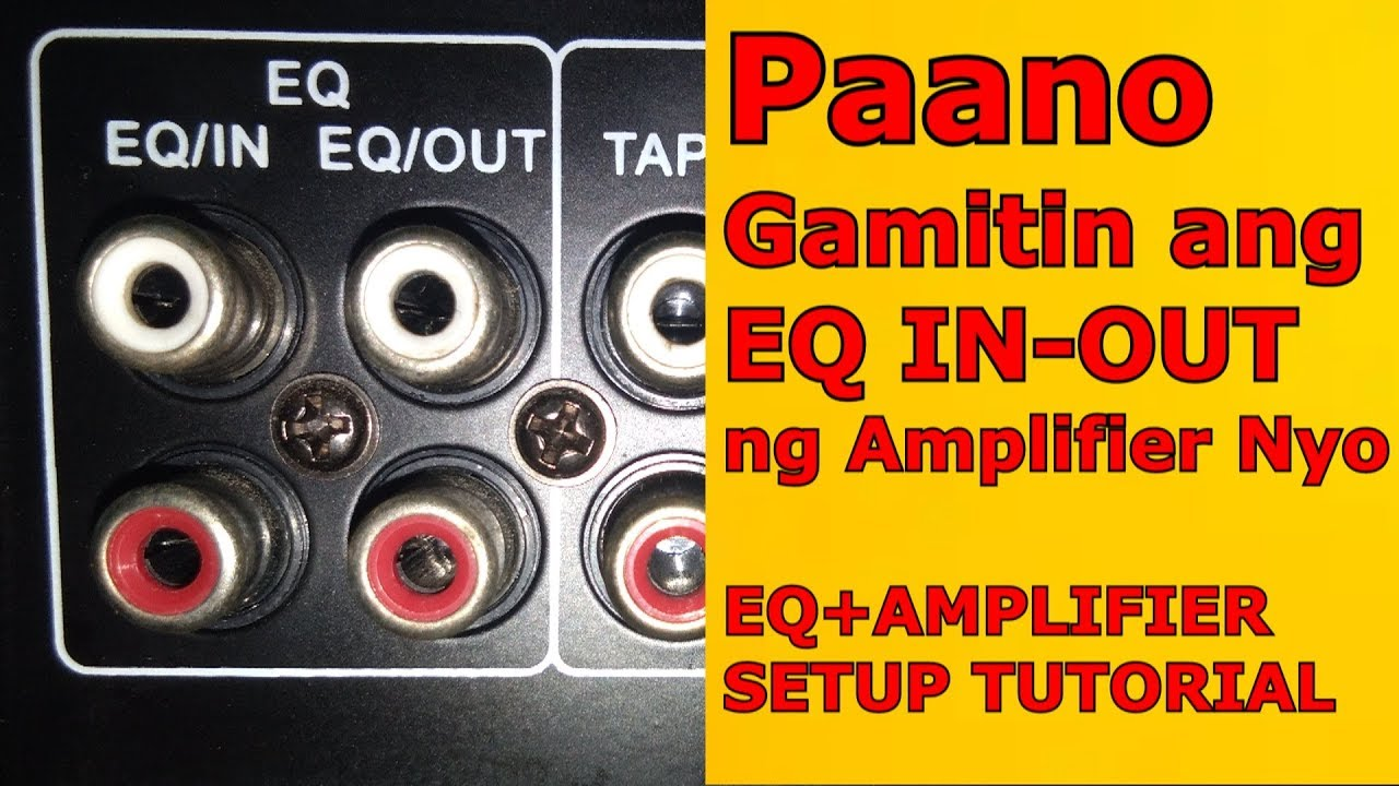 Proper Wiring Diagram For A Subwoofer Into Integrated Amplifier from i.ytimg.com