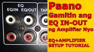 HOW TO CONNECT EQUALIZER TO AMPLIFIER - EASY STEPS - Guide