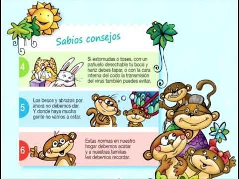 Cuento coronavirus Unicef Ecuador: Monito Burbuja. Nuevo audiolibro. africa