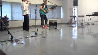 2012.7.28 徳山駅ビル2F 多目的広場 【アコギな歌うたいライヴ】 by 憧...