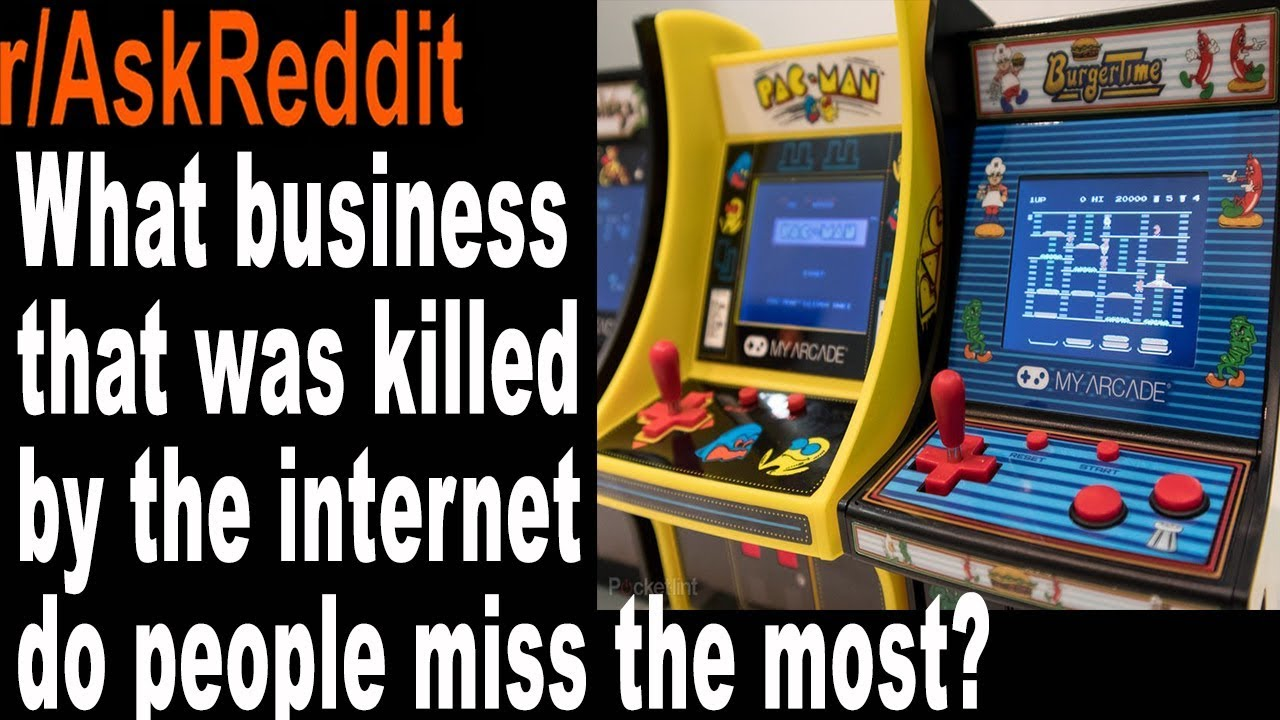 Download What business that was killed by the internet do people miss the most? askreddit Reddit Comments