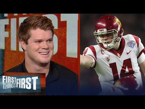 Sam Darnold on what separates him from other QB's, Talks Browns vs Giants | FIRST THINGS FIRST