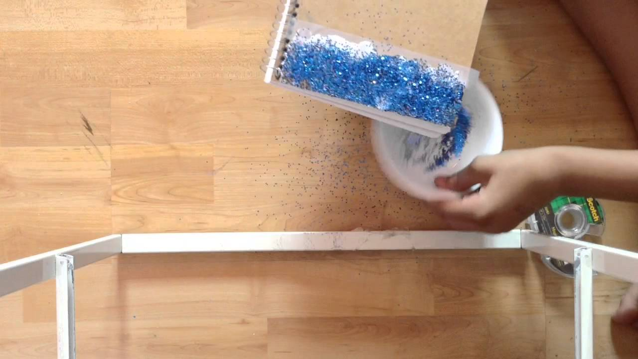 Diy glitter notebook cover - Diy Glitter Notebook Cover 5