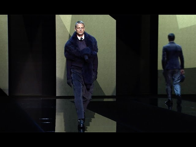 Giorgio Armani - 2017/2018 Fall Winter Men's Fashion Show