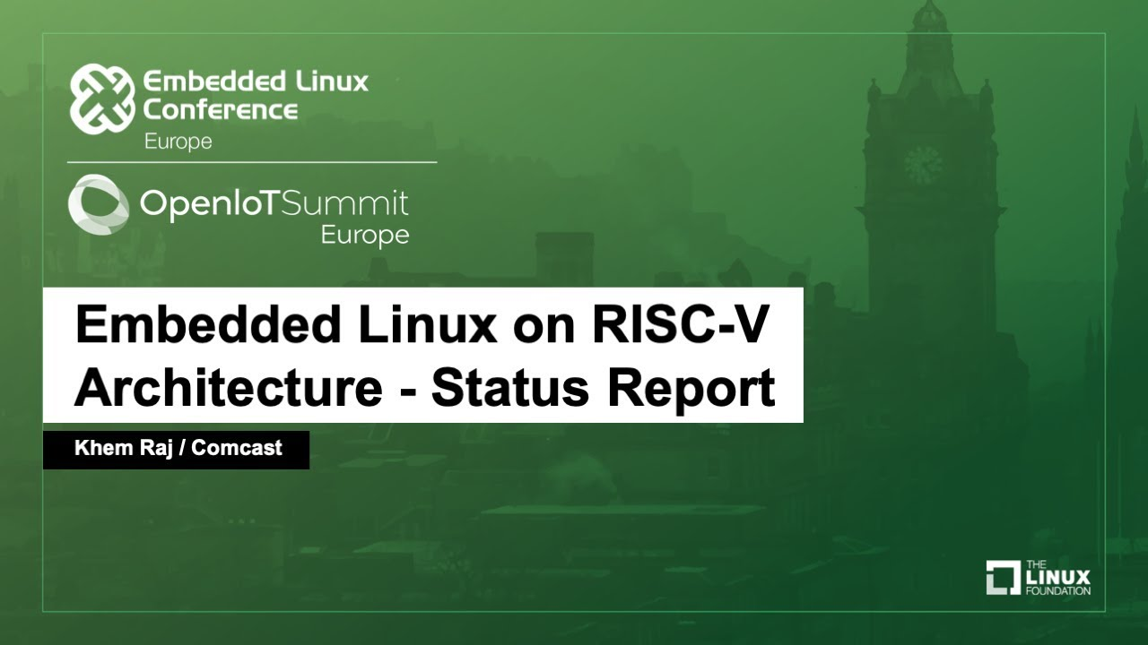 RISC-V Linux development in full swing