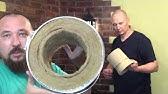 футеровка топки плитами из вермикулита - YouTube