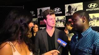 The Hunger Games Dayo Okeniyi amp Jack Quaid Talk Comic Con 2012