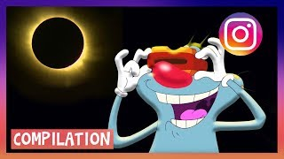 Video 🌔 NEW SOLAR ECLIPSE 2017 🌒 Oggy and the Cockroaches download MP3, 3GP, MP4, WEBM, AVI, FLV November 2017