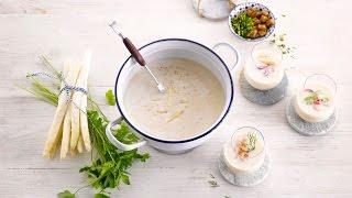 Alpro Recipe – Velvet Asparagus Soup