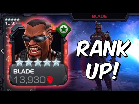5 Star Blade Rank 5 Rank Up & Gameplay! - Marvel Contest Of Champions