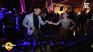 Benjamin Heinze & Steffi de leeuw - social dancing @ Salsa Sunrise Brussels