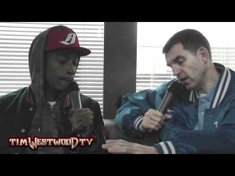 Wiz Khalifa dealing with beef interview - Westwood