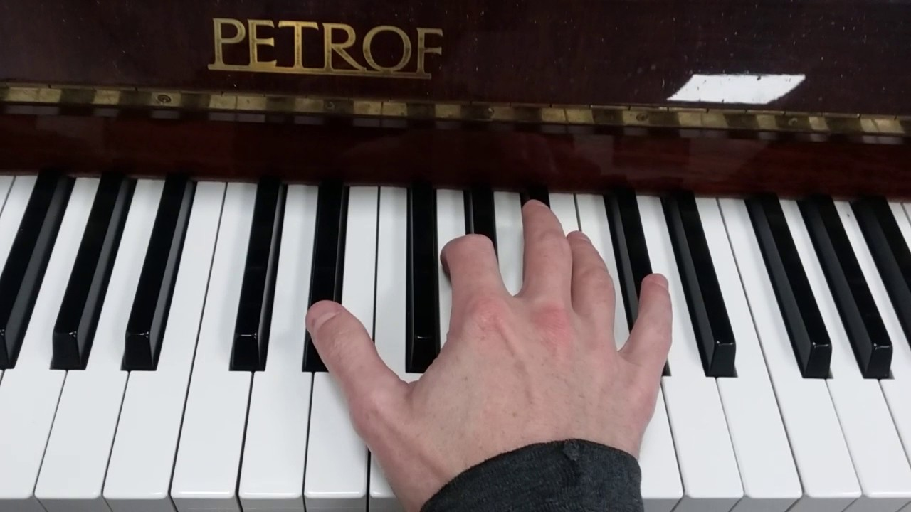 D Flat Chord Piano How to play an ...