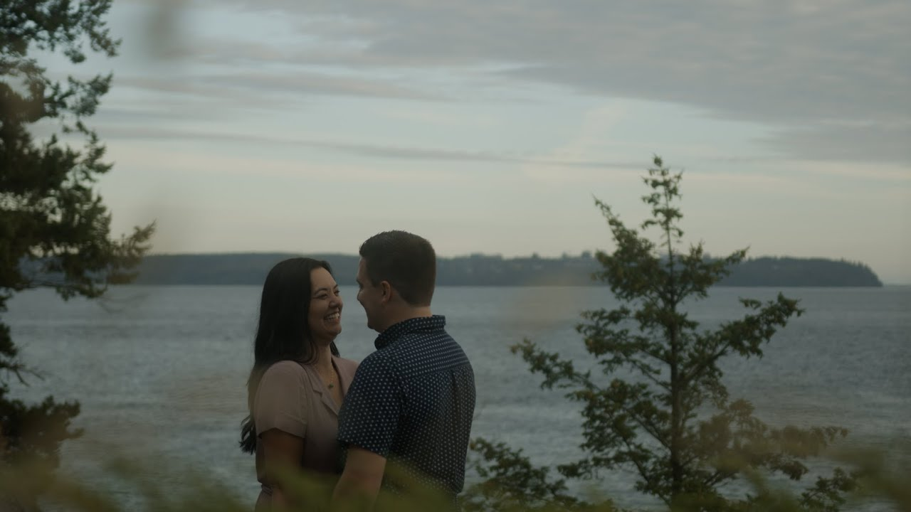 Lighthouse Park Engagement Video [Samantha & Steve]